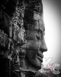 Buddha Face at Angkor  Thom