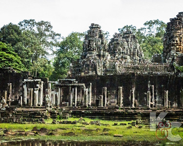 Angkor  Thom With Many Faces on the Towers