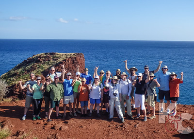 """Shaka"" Wave From Lanai Cliff"