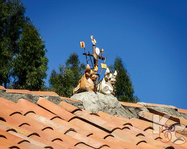 Typical Roof Decorations