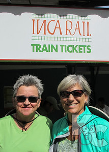At the Inca Rail Station