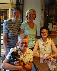 Stacy, Kathy, Madeleine, Candy & Dusty in Boulder