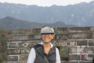 Kathy on the Great Wall