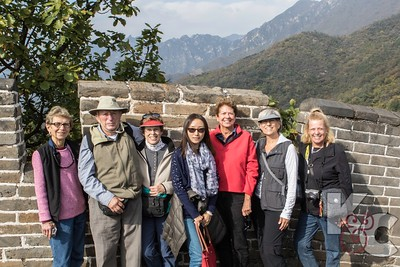 Ruth, Sonny, Mona, Chinese Local Guide Sophie, Ros, Kathy & Helaine