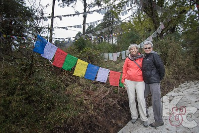 Our Prayer Flags at Dochu La Pass