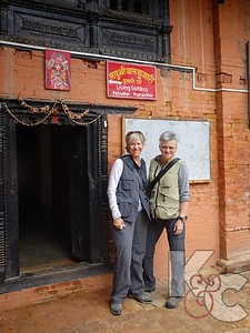 Entrance to Dwelling of the Patan Kumari or Living Goddess