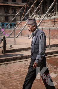 Nepali Man in Durbar Square Patan