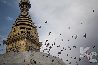 Swayambhunath Stupa, Known as Monkey Temple