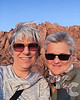 Kathy & Candy Selfie Against the Namib Desert Rocks