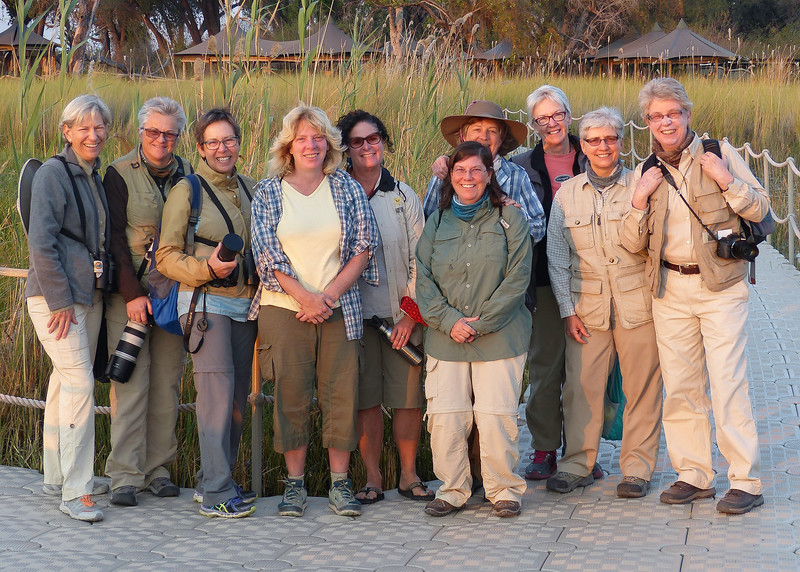 Our Amazing Group Of Travelers At Little Vumbra Camp