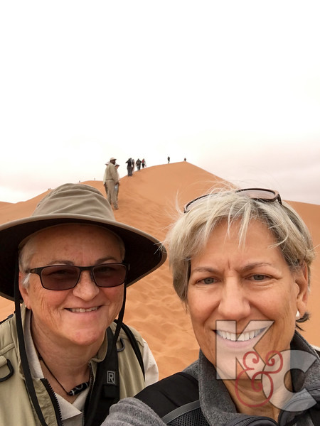 Candy & Kathy Selfie At The Climb of Big Daddy