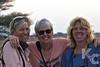Sundowner Smiles:  Kathy, Terry & Suzanne