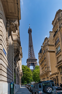 Another View of the Eiffel Tower - Wherever You Go, There She Is