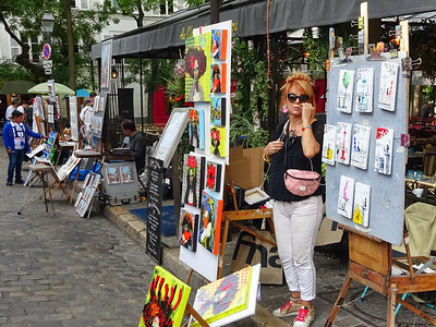 Montmartre Street Artists