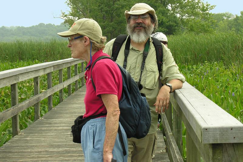 Aquatic Plants of Jug Bay (July 2006)<br /> Led by Cris Fleming