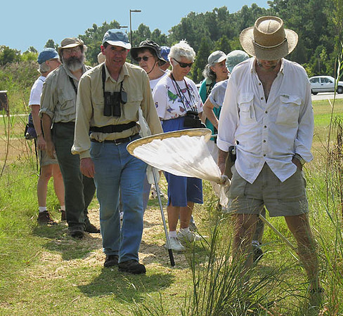 Butterflies at Point Lookout (September 2005)<br /> Led by Dick Smith & Stephanie Mason