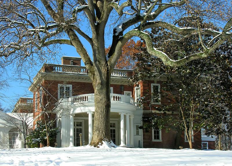 Woodend Winter Portico - DSCN7924