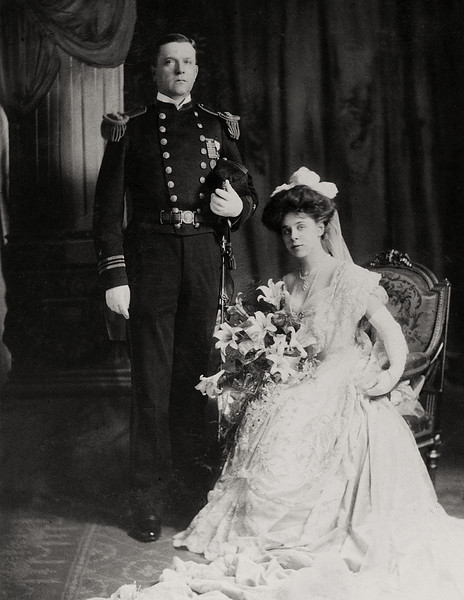 Captain and Mrs. Wells