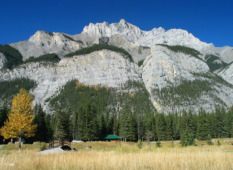 Cascade Mountain from Cascade Ponds<br /> Banff National Park, Alberta, Canada