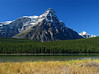 Mount Chephren behind Upper Waterfowl Lake<br /> Banff National Park, Alberta, Canada