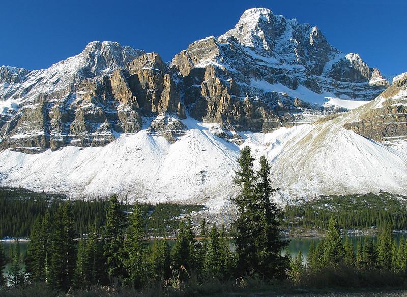 Crowfoot Glacier<br /> Banff National Park, Alberta, Canada