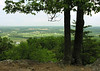 Spring view from east overlook<br /> Sugarloaf Mountain, Frederick County, MD