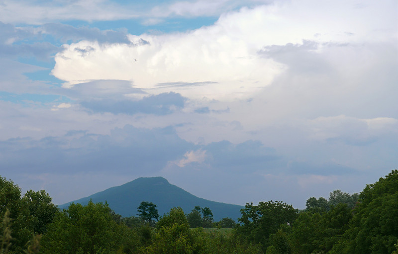 Looking east from Shenandoah Valley from Old Valley Pike<br /> Near Mount Jackson, VA