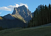 Mount Grassi at sundown<br /> Canmore, Alberta, Canada