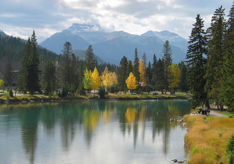 Bow River<br /> Banff Townsite, Alberta, Canada