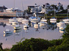 Wychmere Harbor at dawn<br /> Harwichport, Cape Cod, MA
