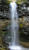 Troll Falls autumn trickle<br /> Kananski Country, Alberta, Canada
