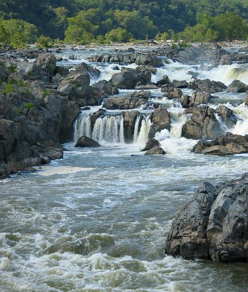 Raging falls<br /> Great Falls National Park, McLean, VA