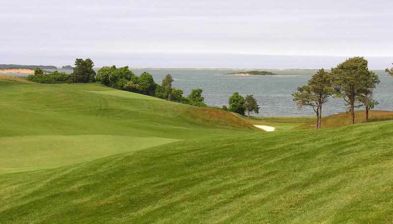Golf course on Pleasant Bay<br /> Chatham, Cape Cod, MA