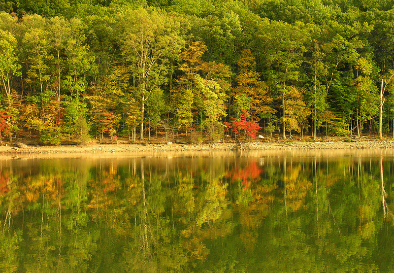 Autumn at Hunting Creek Lake<br /> Cunningham Falls State Park, Thurmont, MD