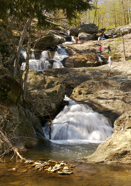 Frolicking on Cunningham Falls in spring <br /> Cunningham Falls State Park, Frederick County, MD