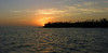 Sunset in mangrove swamp (from boat)<br /> Ten Thousand Islands National Wildlife Refuge, FL
