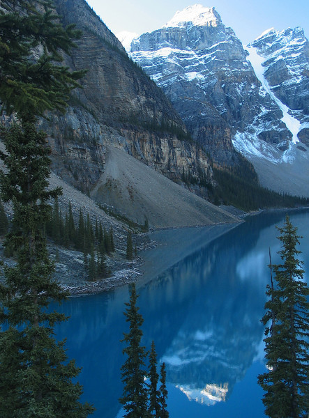 Moraine Lake in early morning light<br /> Banff National Park, Alberta, Canada