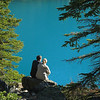 Lovers at Moraine Lake<br /> Banff National Park, Alberta, Canada