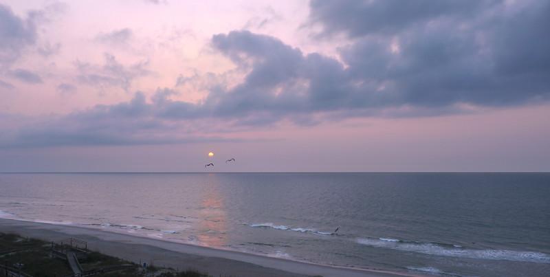Peaceful sunrise<br /> Carolina Beach, NC