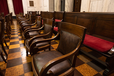 Supreme Court of Appeals of West Virginia Courtroom in the WV State Capitol.  December 3, 2019 (J. Alex Wilson - Supreme Court of Appeals of West Virginia)