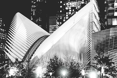 NYC World Trade Transportation Hub