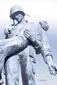 """American Soldier WWII Natan Rapoport"""