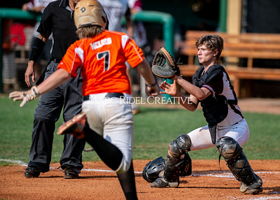 Fuquay-Varina vs West Lake baseball championship at Broughton high School. June 2, 2019. D4S_0377