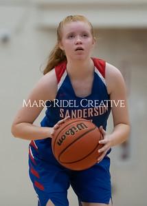 Broughton boys and girls varsity basketball vs Sanderson. Senior night. February 11, 2020. MRC_4592