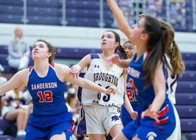 Broughton boys and girls varsity basketball vs Sanderson. Senior night. February 11, 2020. D4S_3351