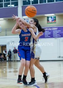 Broughton boys and girls varsity basketball vs Sanderson. Senior night. February 11, 2020. D4S_3437
