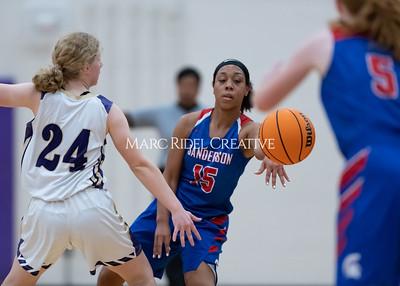 Broughton boys and girls varsity basketball vs Sanderson. Senior night. February 11, 2020. MRC_4613