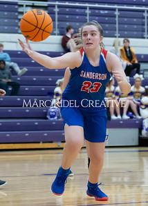 Broughton boys and girls varsity basketball vs Sanderson. Senior night. February 11, 2020. D4S_3402
