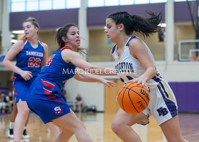 Broughton boys and girls varsity basketball vs Sanderson. Senior night. February 11, 2020. D4S_3157