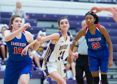 Broughton boys and girls varsity basketball vs Sanderson. Senior night. February 11, 2020. D4S_3349
